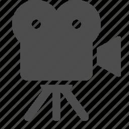 camera, film, movie, recording, television, tv, video icon
