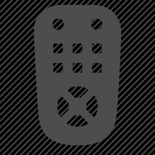 control, entertainment, remote, remote control icon