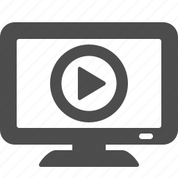 film, movie, screen, television, tv, video, watch icon