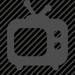 antique, electronics, retro, set, television, tv icon