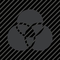 color, gradient, mixer, wheel icon