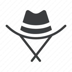 accessory, cowboy, hat, movie, sheriff icon