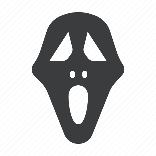 face, ghost, halloween, horror, mask icon