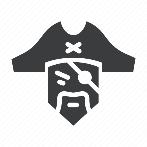 avatar, bandit, eye, movie, patch, pirate, robber icon