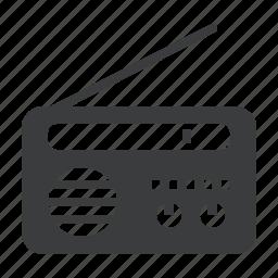 appliance, communication, device, listen, radio icon