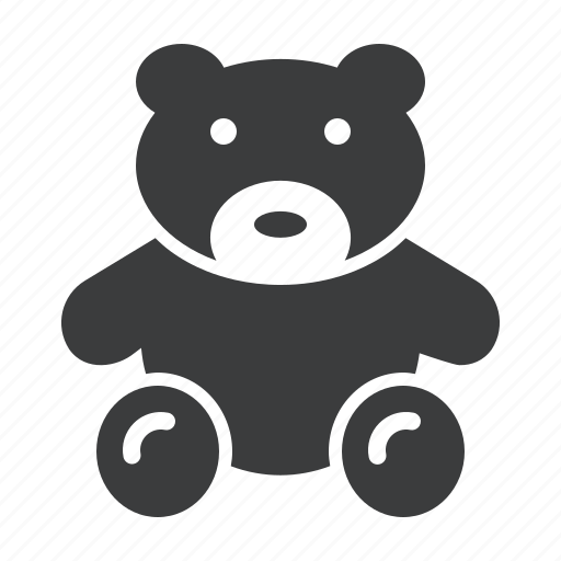 bear, cuddle, kids, play, ted, teddy, toy icon