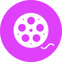 cinema, film, movie, reel, roll icon