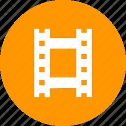 cinema, film, movie, reel, roll, strip icon