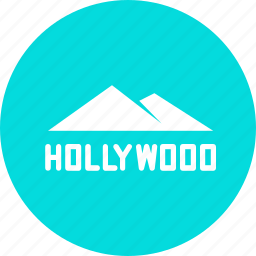 film, hills, hollywood, la, mountain, production, valley icon