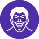 antihero, avatar, character, joker, movie, villain icon