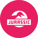 cinema, entertainment, film, jurassic, jurassic park, movie icon