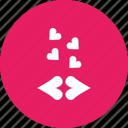 genre, heart, kiss, love, movie, romance, valentine icon
