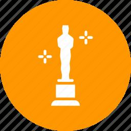 award, cinema, film, honor, movie, oscar, prize icon