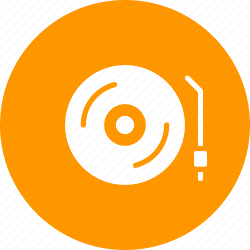 deejay, movie, music, party, play, record, turntable icon