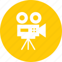 camera, cinema, film, movie, record, shoot, video icon