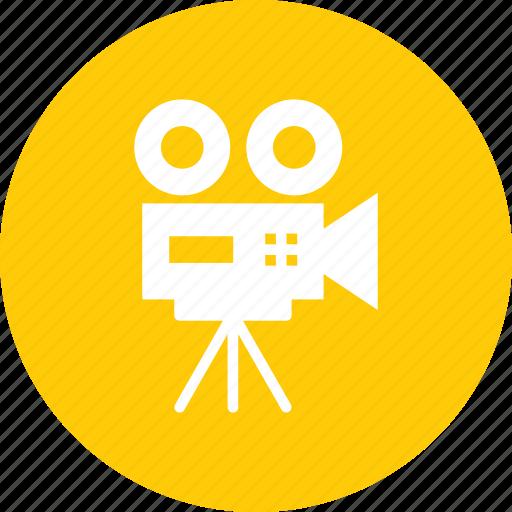 camera, cinema, film, movie, record, shoot, video icon
