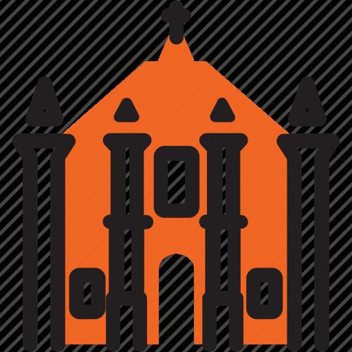 catholic, church, island, mozambique, unesco icon