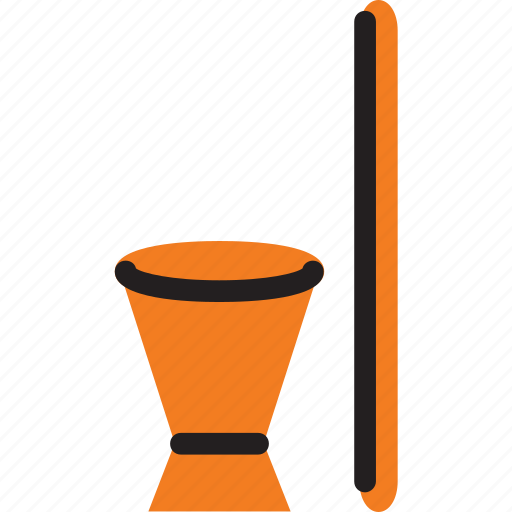 african, and, mortar, mozambique, pestle icon