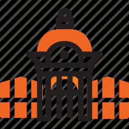 architecture, central, maputo, mozambique, railway, station, train icon