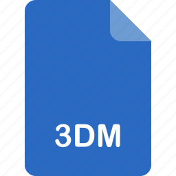 3dm, file format icon