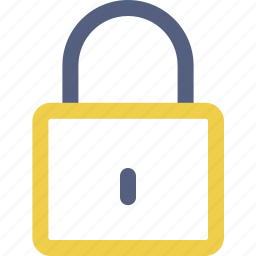 lock, password, secure icon icon