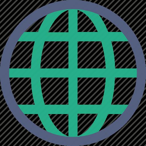 global, globe, world icon icon