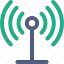 communication tower, radio tower icon icon
