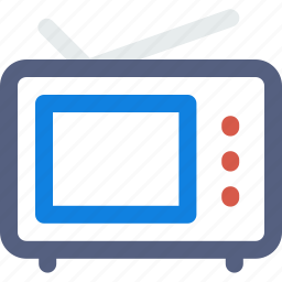 set, television, television set, tv, tv set icon icon