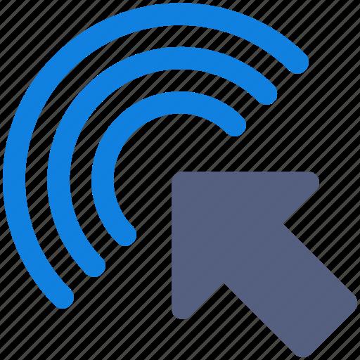 click, interface, pointer icon icon