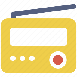 communication, media, radio icon icon