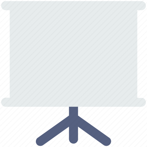 board, media, movie, play, presentation, promo, video icon icon