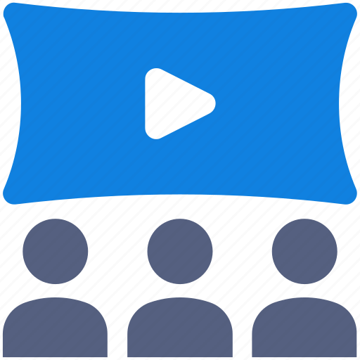 business meeting, conference, teamwork, video call icon icon