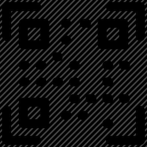 code, qr, qr code, scan, scanner icon icon