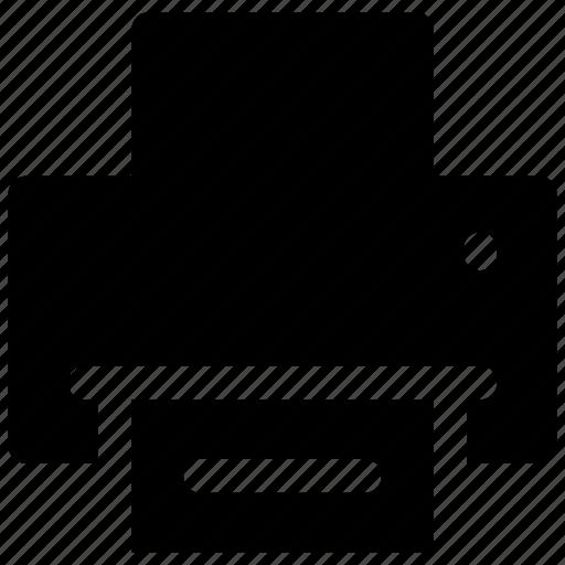 print, printer, printing icon icon