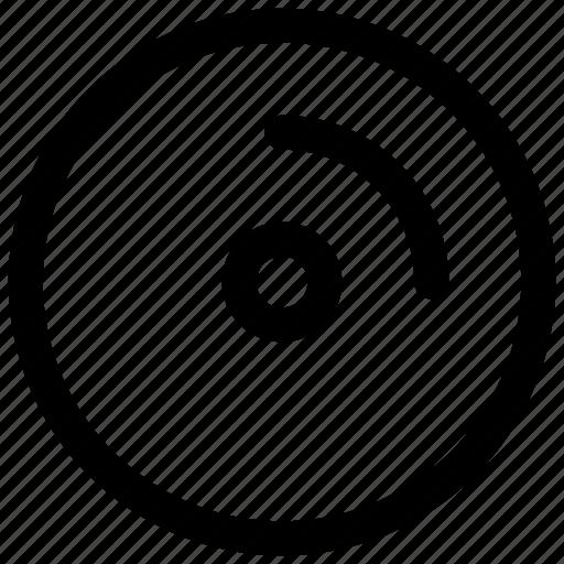 cd, disc icon icon