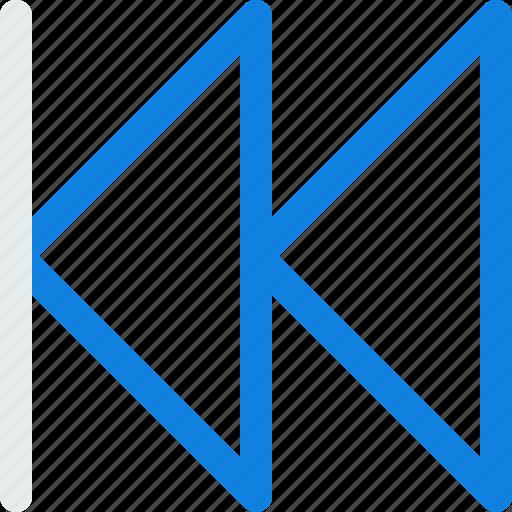 backward, fast, previous icon icon