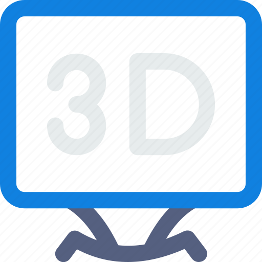 3d, game, lcd, lcd icon, tv, video icon