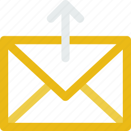email, mail, upload icon icon