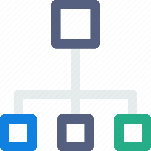 breakdown, housing, network, team icon icon