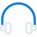 ear phone, head phone, headphones, music icon icon