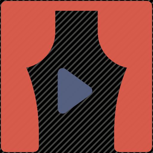 scene, theater icon icon