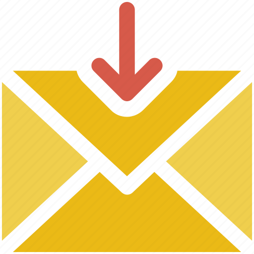 download, email, mail icon icon