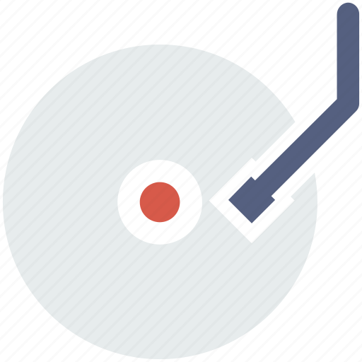cd, disk, multimedia, music, play icon icon
