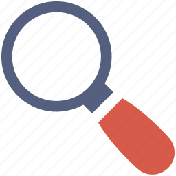 magnifying glass, search icon icon