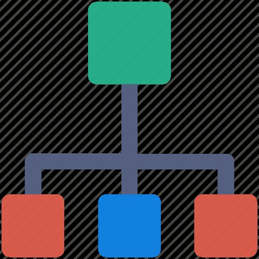 breakdown, housing, network, team icon icon