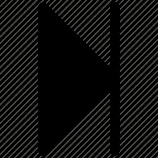 audio, last, square, video icon icon