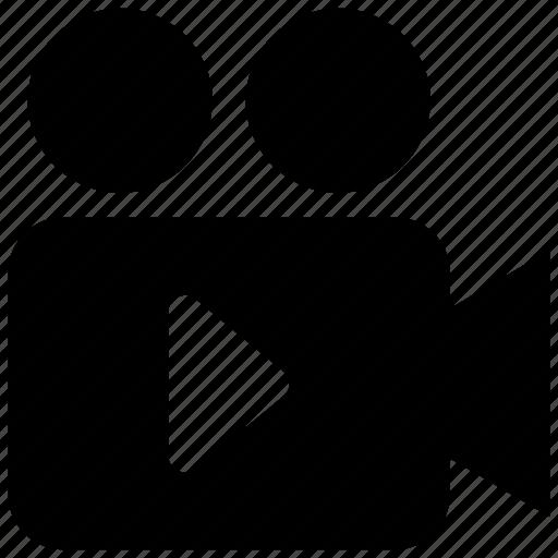 camera, projector, video icon icon