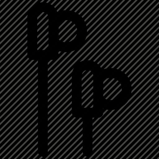 audio, ear, earphone, music, phone icon icon