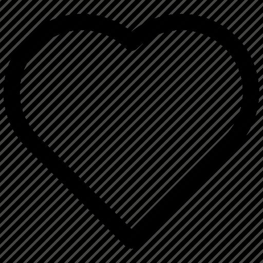 favorite, heart, love icon icon