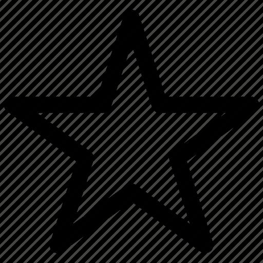 bookmark, favorite, star icon icon